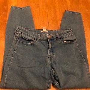 Forever 21 light wash stretch denim jeans nice 28